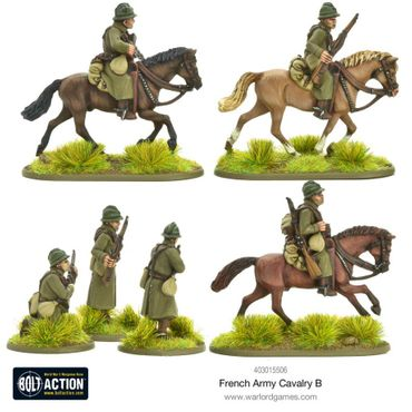 French Army Cavalry B 28mm – Bild 4