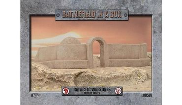 Battlefield in a Box Galactic Warzones Desert Walls