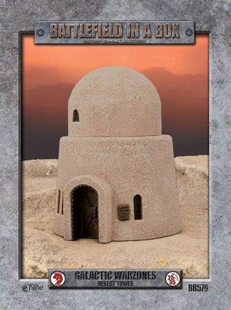 Battlefield in a Box Galactic Warzones Desert Tower – Bild 1