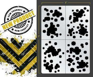 Flecktarn Camo Airbrush Stencil (Camouflage)