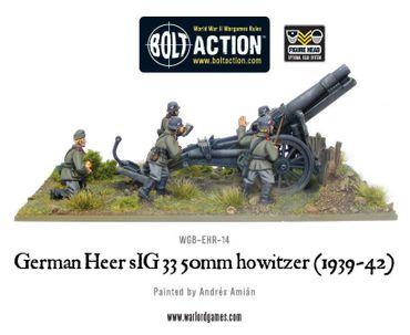 Blitzkrieg German sIG33 150mm howitzer (1939-42) – Bild 4