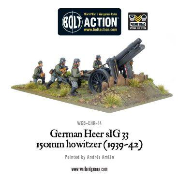 Blitzkrieg German sIG33 150mm howitzer (1939-42) – Bild 1