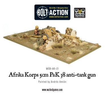 Afrika Korps 5cm PaK 38 Anti-Tank Gun 28mm – Bild 1