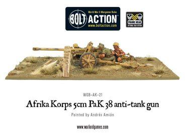 Afrika Korps 5cm PaK 38 Anti-Tank Gun 28mm – Bild 3