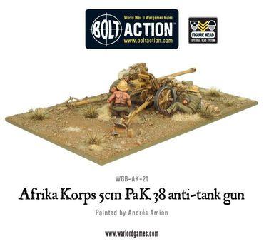 Afrika Korps 5cm PaK 38 Anti-Tank Gun 28mm – Bild 5