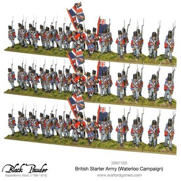 Napoleonic British Starter Army Waterloo Campaign – Bild 3