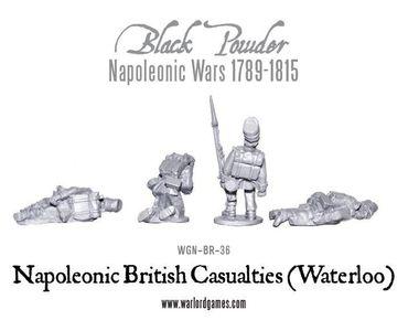 Napoleonic British Casualties Waterloo – Bild 2