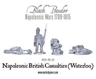 Napoleonic British Casualties Waterloo – Bild 1