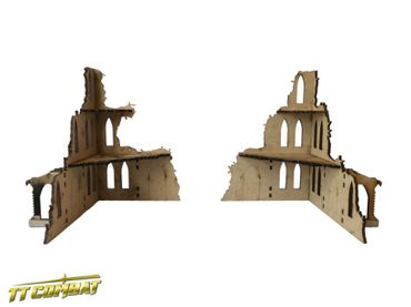 Gothic Corner Ruins A 28mm – Bild 2