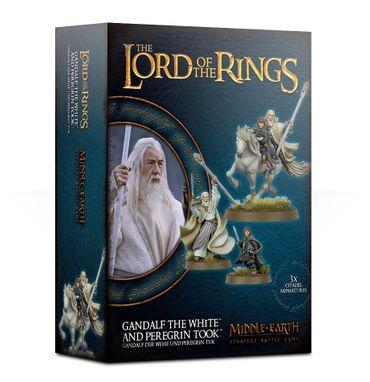 Herr der Ringe Gandalf Der Weiße und Peregrin Took