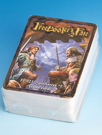 Freebooter's Fate Spielkarten 2 Edition (Deutsch/Englisch)