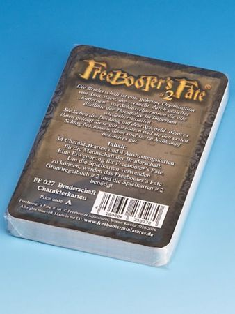 Freebooter's Fate Bruderschaft Charakterkarten 2 Edition (Deutsch) – Bild 2