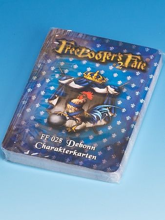 Freebooter's Fate Debonn Charakterkarten 2 Edition (Deutsch)
