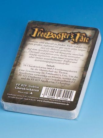 Freebooter's Fate Goblin Charakterkarten 2 Edition (Deutsch) – Bild 2