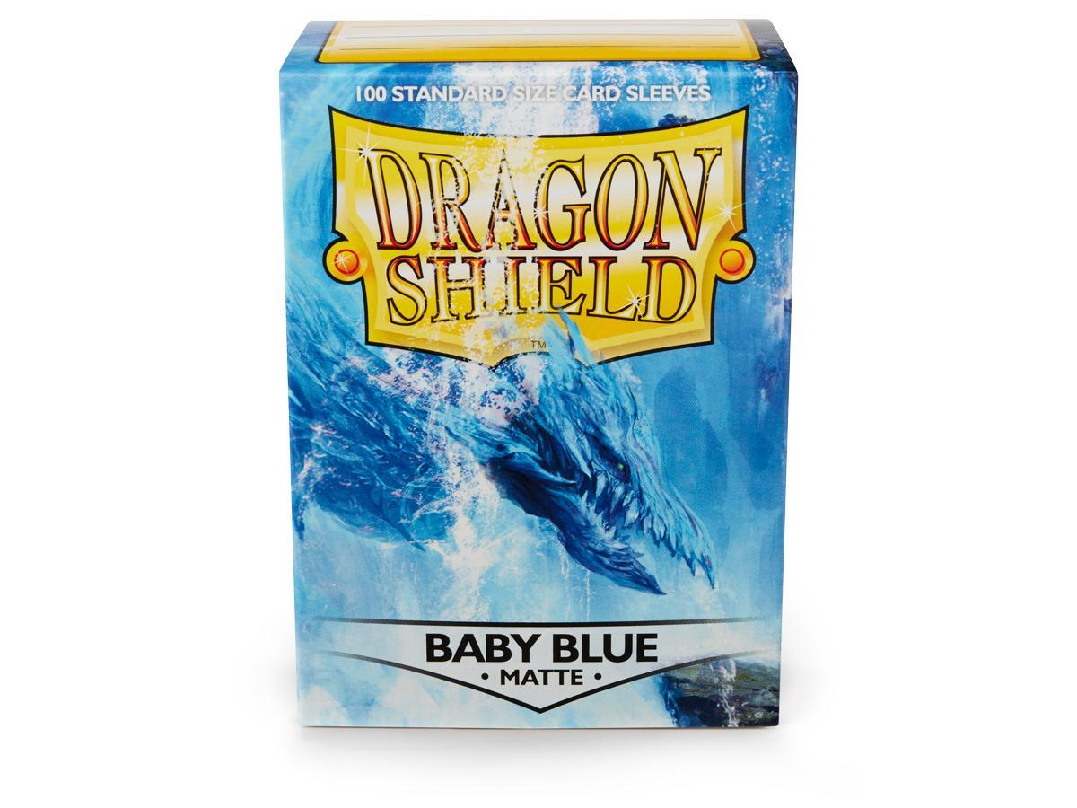 Dragon Shield Standard Manches Bleu Mat