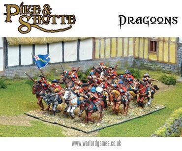 Pike & Shotte Dragoons 28mm – Bild 2
