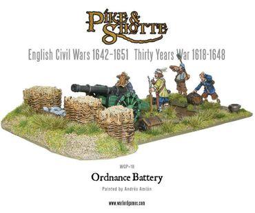 Pike & Shotte Ordnance Battery 28mm – Bild 3