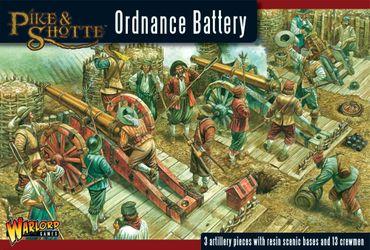 Pike & Shotte Ordnance Battery 28mm