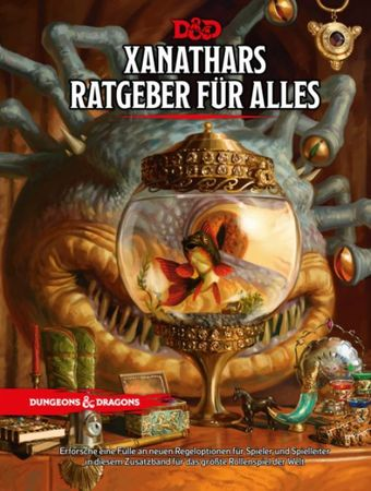 Dungeons & Dragons Xanathars Ratgeber für alles 5th Edition (Deutsch)