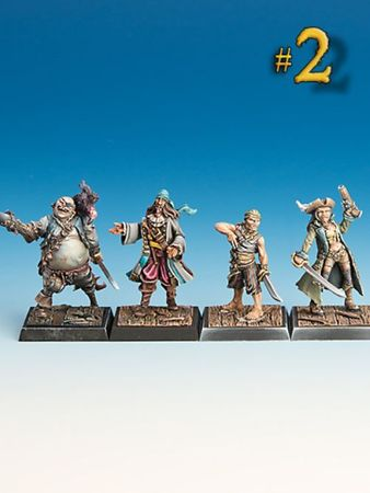 Piraten Starter Box (Resin) – Bild 3