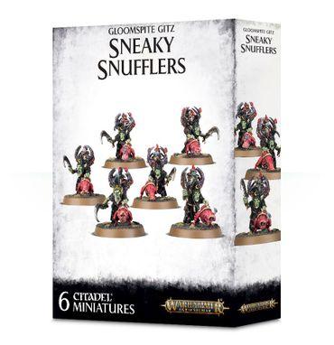 Gloomspite Gitz Sneaky Snufflers with Snufflesquigs