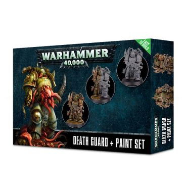 Warhammer 40.000 Death Guard Paint Set