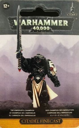 Space Marines Black Templars The Emperors Champion [GW WEB EXKLUSIV]