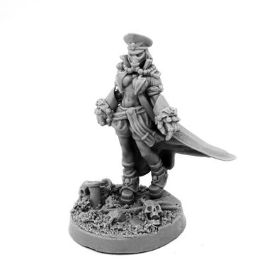 Imperial Soldiers Female Commissar With Fists Of Power Pin-Up – Bild 4