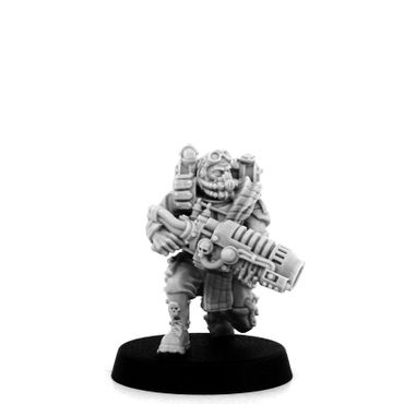 Imperial Soldier Dead Dog With Special Weapons