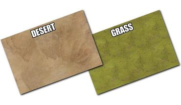 Gaming Mat Grassland / Desert 4x6 Two Sided – Bild 2