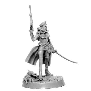 Imperial Soldier Female Commissar With Laser Pistol – Bild 3
