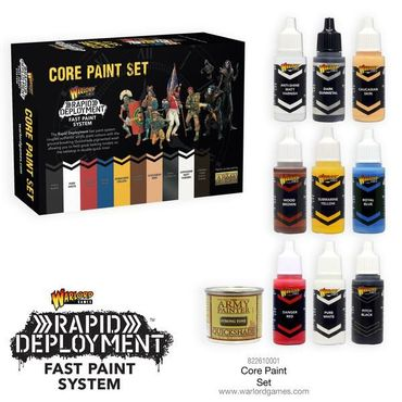 Warlord Core Paint Set (10)