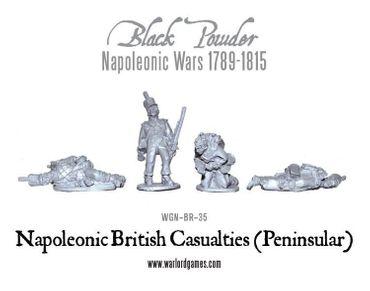 Napoleonic British Casualties Peninsular 28mm