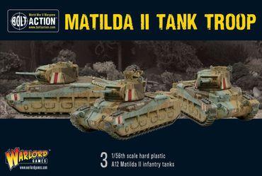 Matilda II Tank Troop 28mm – Bild 1