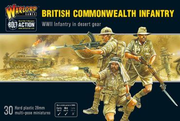 British Commonwealth Infantry 28mm