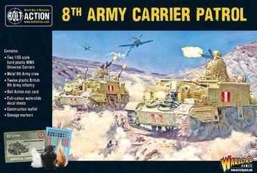 British 8th Army Carrier Patrol 28mm