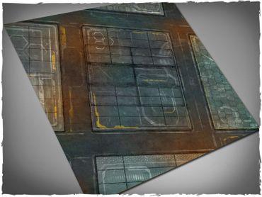 Deep Cut Studio Wargames Terrain Mat Neo Tokyo 4x4