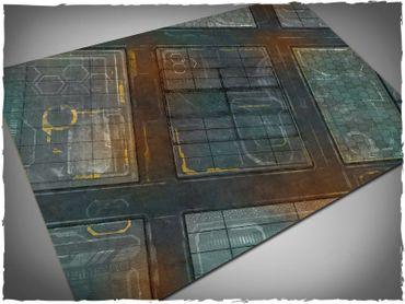 Deep Cut Studio Wargames Terrain Mat Neo Tokyo 4x6