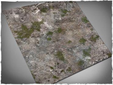 Deep Cut Studio Wargames Terrain Mat Medieval Ruins 4x4