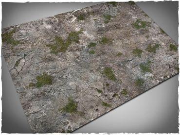 Deep Cut Studio Wargames Terrain Mat Medieval Ruins 4x6