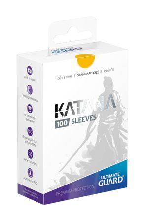 Katana Sleeves Standard Gelb 100