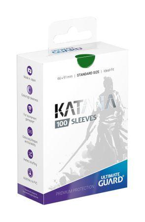 Katana Sleeves Standard Grün 100