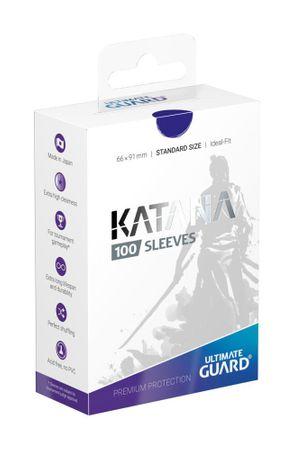 Katana Sleeves Standard Blau 100