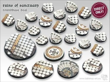 Ruins of Sanctuary Starter Deal Rundbases (20-5-1)