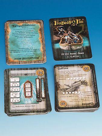 Freebooter's Fate Boote Charakterkarten 2 Edition (Deutsch/Englisch) – Bild 2