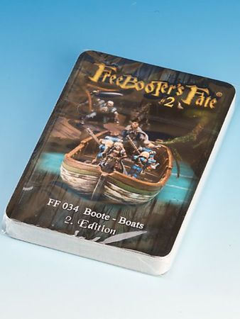 Freebooter's Fate Boote Charakterkarten 2 Edition (Deutsch/Englisch)