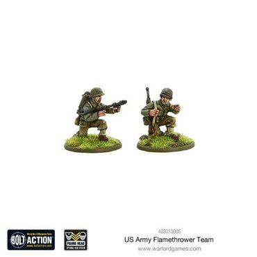 US Army Flamethrower Team 28mm