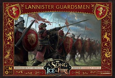 A Song Of Ice And Fire Lannister Guardsmen (DE/ES/FR/IT/CN/RU)