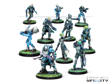 Infinity Adepticon Bundle 2019 (Spiral Corps + Hatail Spec-Ops + Daedalus'Fall + Saito Togan) EN – Bild 4