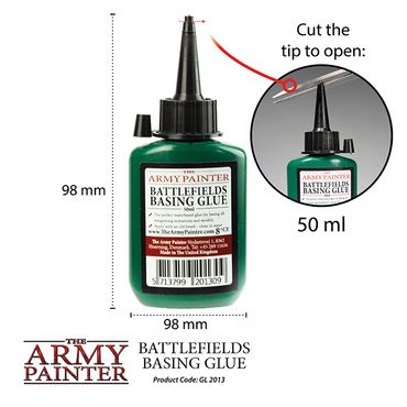 Battlefields Basing Glue 50ml – Bild 2